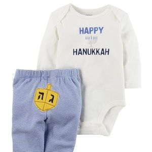 Carters Boys Hanukkah Outfit Newborn to 12 Months